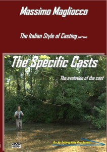 Copertina The specific casts fly fishing