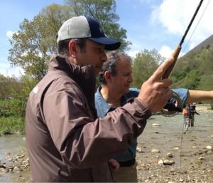 Corsi di pesca a mosca pratica