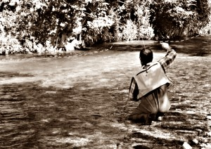 Pesca a mosca secca