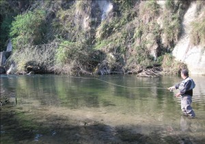 Fly fishing Magliocco
